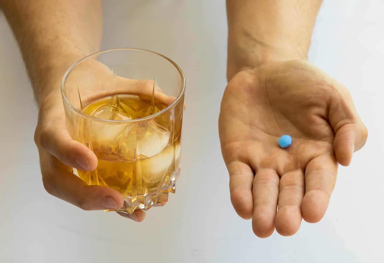 Kamagra i alkohol
